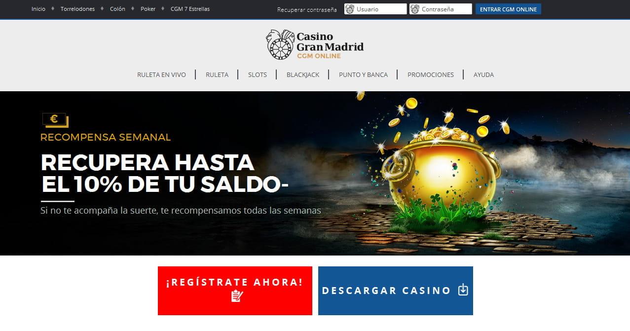 Casino gran madrid online jugar fon duluth casino