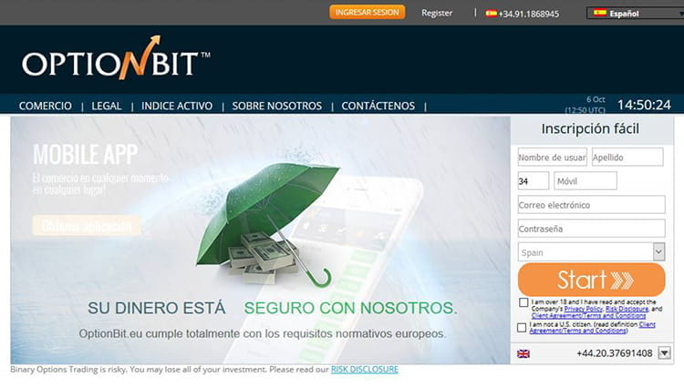 Optionbit opiniones opciones binarias guardian