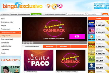 Promotions de Bingo Exclusivo