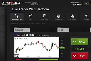 OptionRally te ofrece un entorno sencillo para invertir