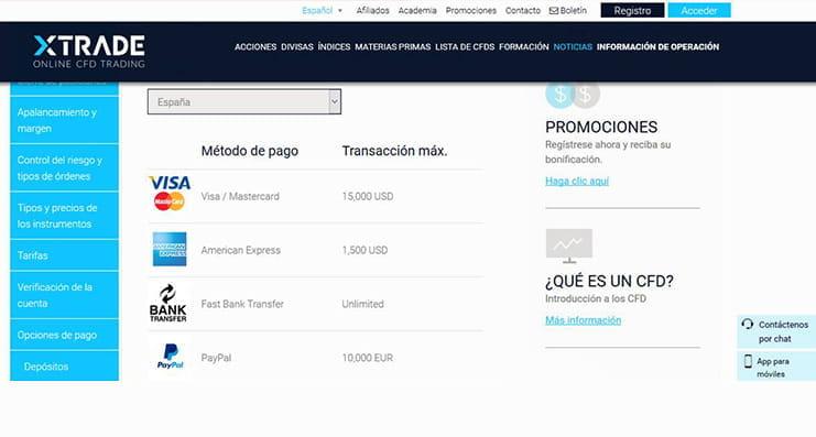 xtrade online cfd handelsbericht beste kryptowährungs-handelsbasis