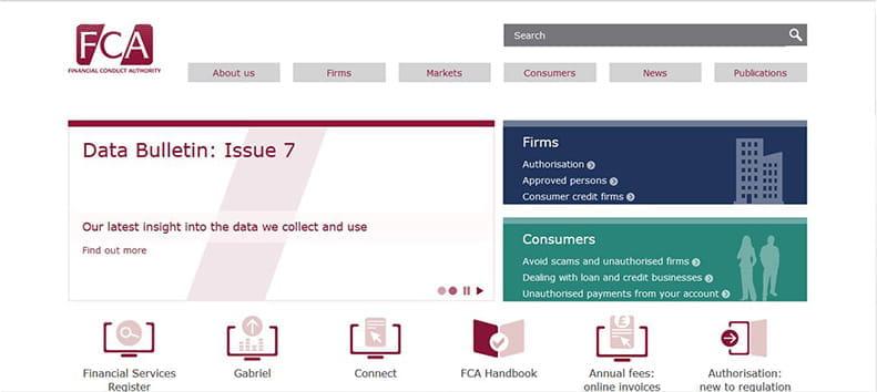 La FCA es la máxima autoridad financiera del Reino Unido y regula los mercados para que estos sean justos y transparentes.